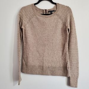 American Eagle Womens Gray Knit Sweater Size S